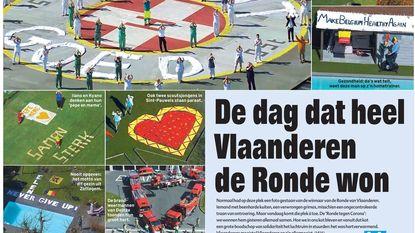 De dag dat heel Vlaanderen de Ronde won