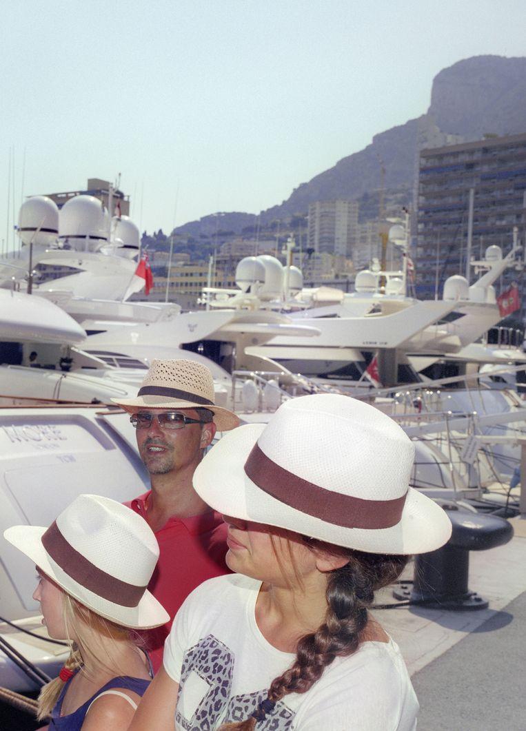 Schepen in de haven van Monte Carlo. Beeld Otto Snoek