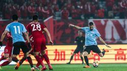Yannick Carrasco gaat in Chinese debuutmatch met 8-0(!) onderuit