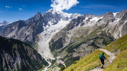 Drie Belgische alpinisten raken gewond na val in kloof Mont Blanc
