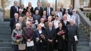 Huwelijksjubilarissen ontvangen op gemeentehuis