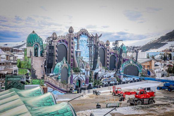 Tomorrowland Winter vorig jaar.