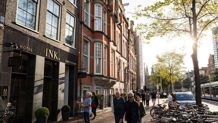 Accor bouwde jaren geleden al zijn Sofitel aan de Nieuwezijds Voorburgwal om tot INK hotel. Zo'n rebranding gaan we wellicht vaker zien Beeld Rink Hof