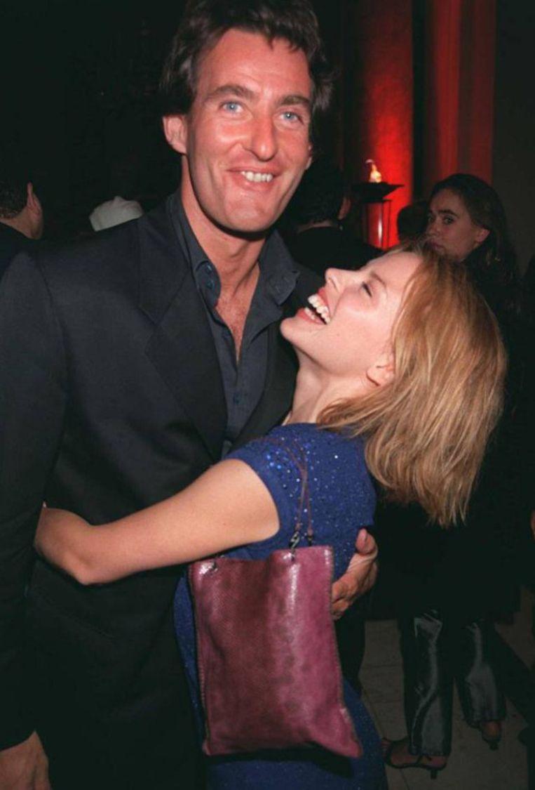Tim Jefferies en Kylie Minogue