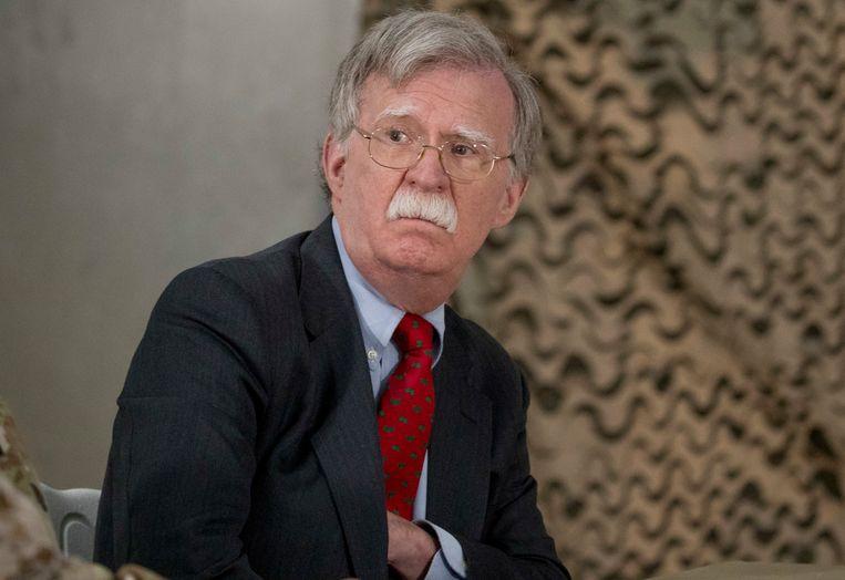 John Bolton leidt de Amerikaanse Nationale Veiligheidraad.
