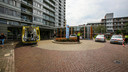 Man steekt zichzelf neer in woonzorgcentrum de Ameide in Helmond.