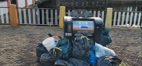 Vlaardingse afvalcontainers in februari op slot, ze zijn dan alleen te openen met een pasje