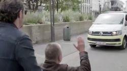 Dakloze Graeme is goede vriendjes met de Antwerpse politie