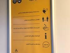 Forum voor Democratie wil eind aan Arabische posters in trein naar Almelo