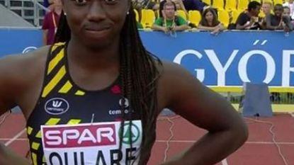 Mariam Oulare, zus van voetballer Obbi, sloopt Belgisch record U18 van Kim Gevaert op de 60 meter