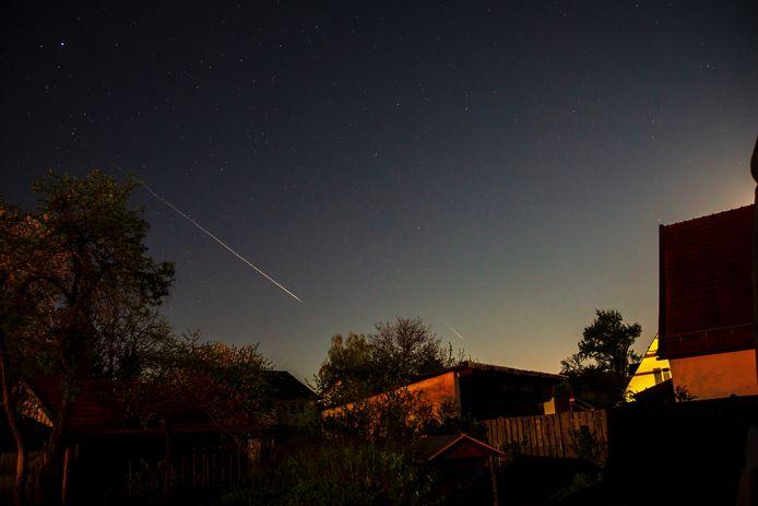 In de nacht van woensdag op donderdag zijn er in het zuiden van Nederland vallende sterren te zien.