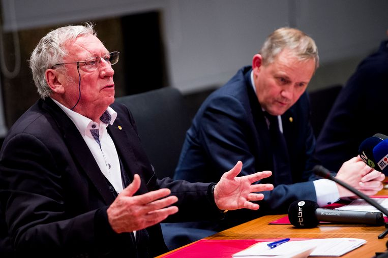 Gerard Linard en Koen De Brabander.