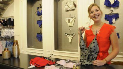 """Jonge onderneemster Astrid Van Kelecom maakt haar droom waar en opent Plaza Lingerie Astrid: """"Met passie voor lingerie"""""""