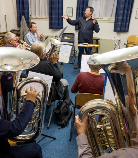 Groei blijft het streven bij Onda Brass: 'Ook na 115 jaar een gezellige muziekvereniging'