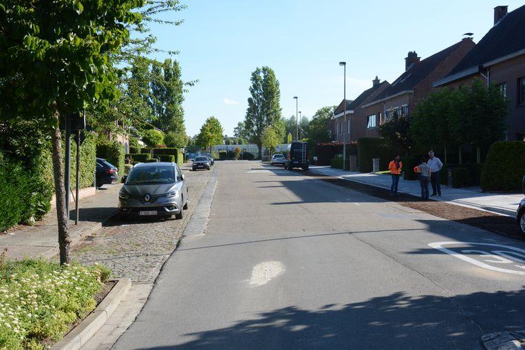 De rechterzijde van de Eupenlaan werd al aangepakt. De aannemer start eerstdaags aan de andere kant.