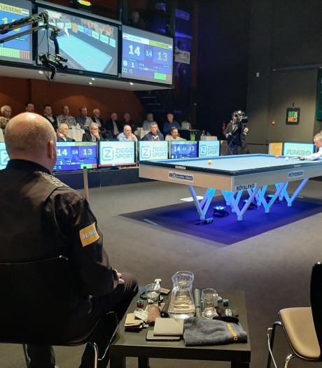 'Geen greintje geluk', moppert Tijssens. Jaspers naar finale NK