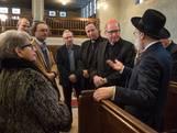 Kardinaal Eijk bezoekt Enschedese synagoge