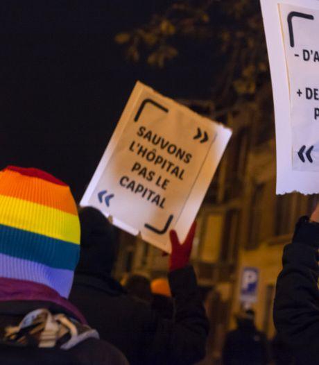 La manifestation contre le couvre-feu interdite: la police devra verbaliser