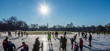 Schaatsen kunnen uit het vet: ijsbaan in Amersfoort is open