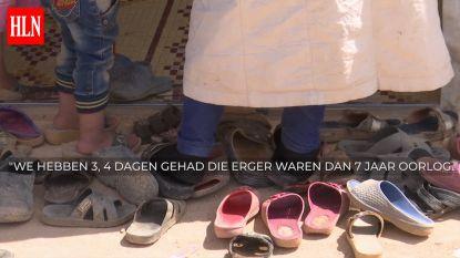 Video: Dit is de familie Sweidan, gevlucht voor de oorlog, gevangen in een tent