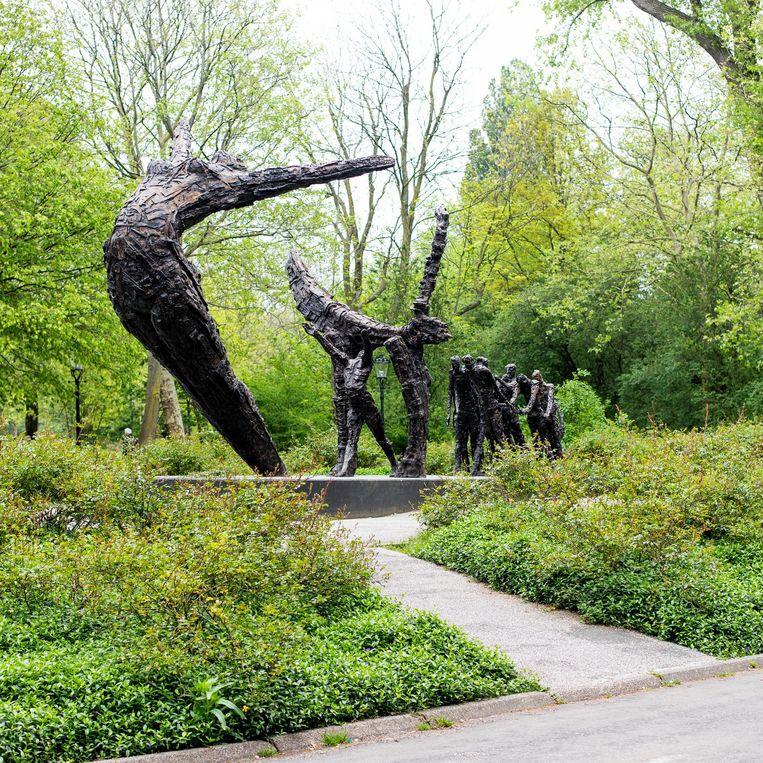Het Nationaal monument slavernijverleden in het Oosterpark Beeld Lin Woldendorp