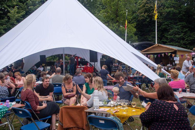Wereldfeest op de He-Melse Feesten in Melle.