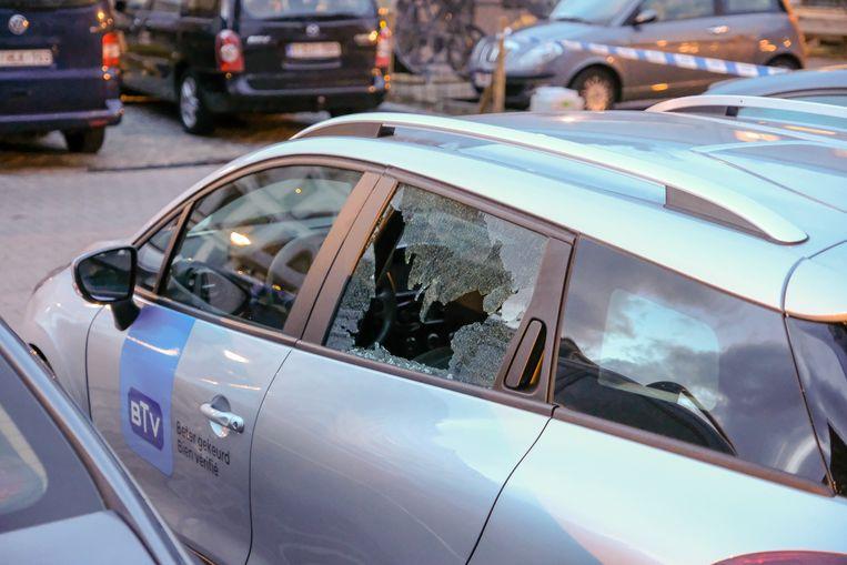 Schietpartij in Sint-Gillis: Kogelinslag in geparkeerde wagen.