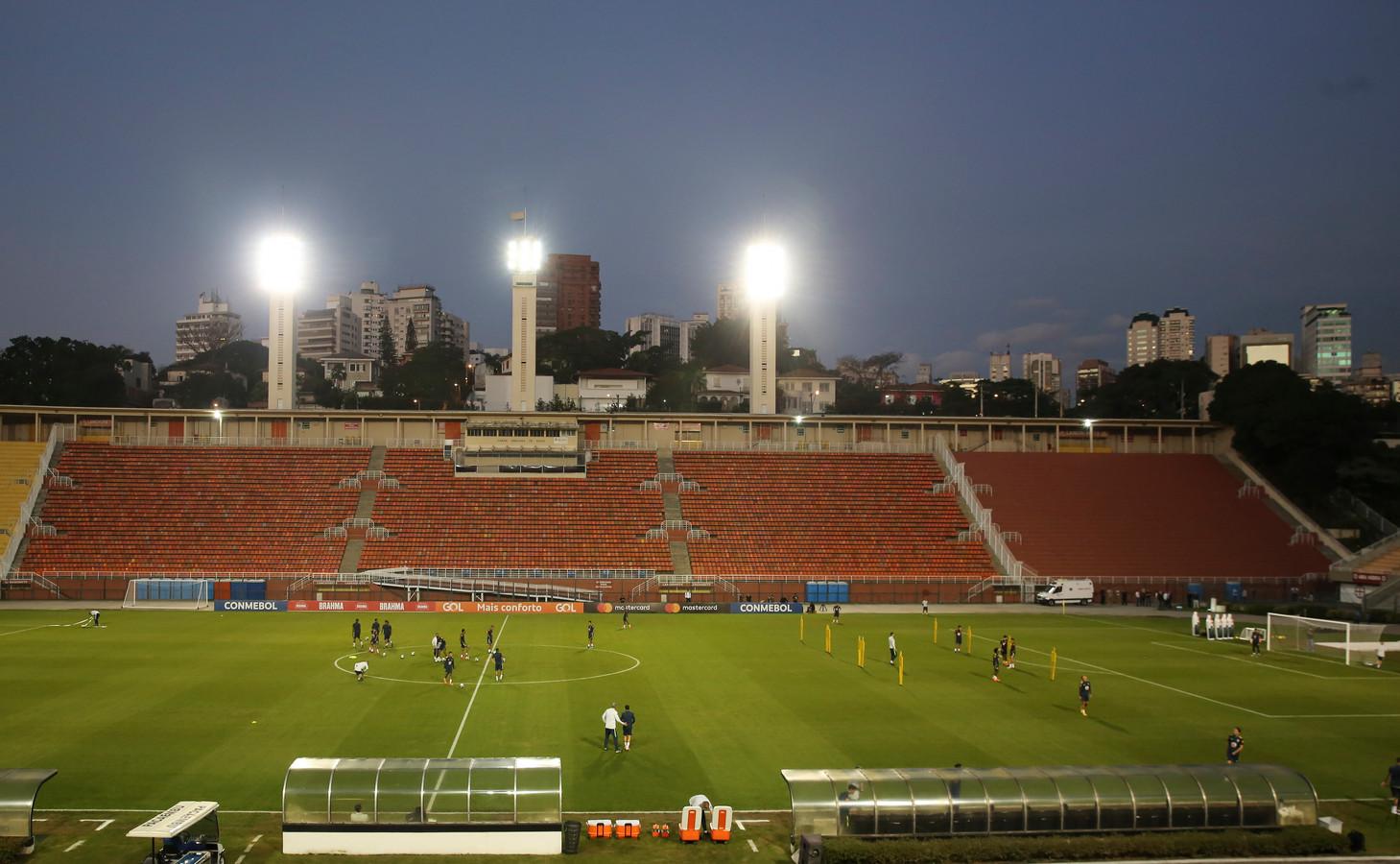 Stadion Pacaembu in Sao Paulo.