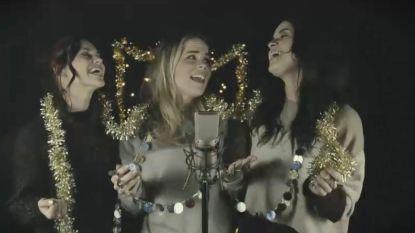K3 brengt kerstcover met hun 'The Voice Kids'-kandidaten