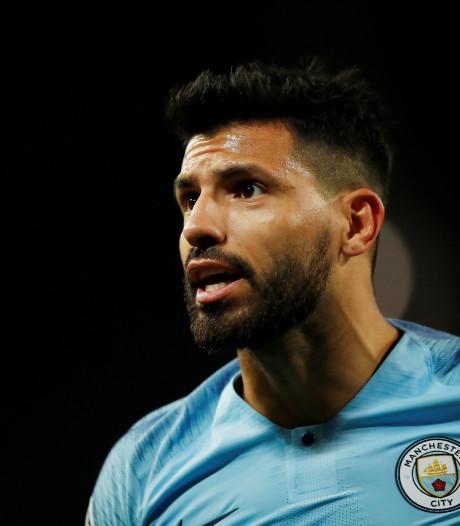 Topscorer Agüero tekent jaartje bij in Manchester
