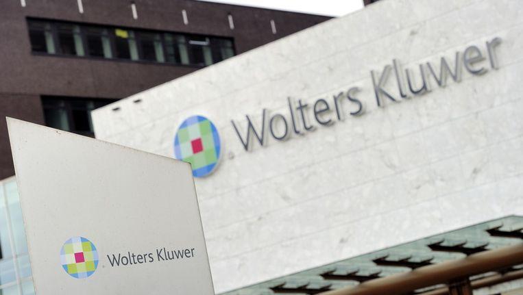 Exterieur van uitgeverij Wolters Kluwer in Alphen aan de Rijn. Beeld anp