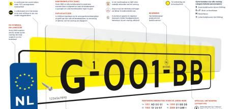 G-001-BB: dit is het nieuwe NL-kenteken