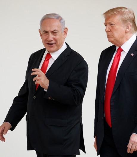 Trump erkent Golanhoogten als deel van Israël