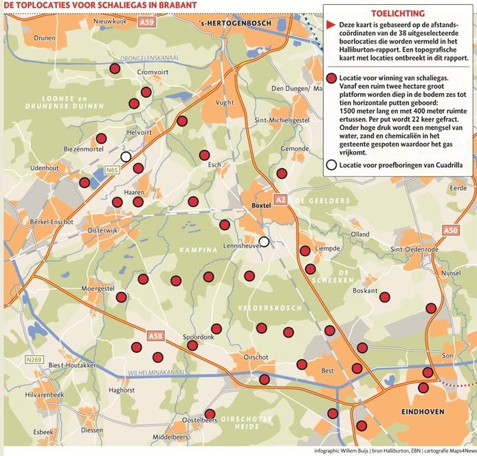 Kaart: Brabants Dagblad