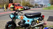Bromfietser gewond na botsing met auto op berucht kruispunt