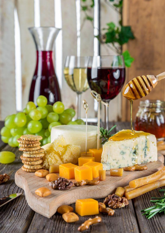 Kaas en wijn in Huize Roborst