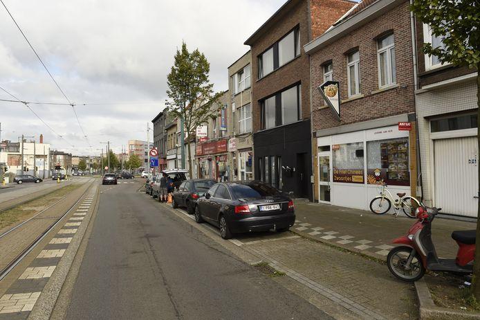 De Antwerpsesteenweg in Hoboken