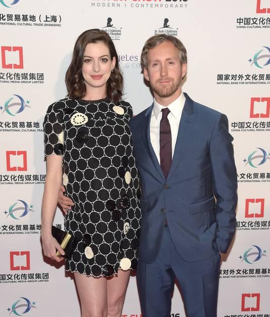 Anne Hathaway et son mari, Adam Shulman