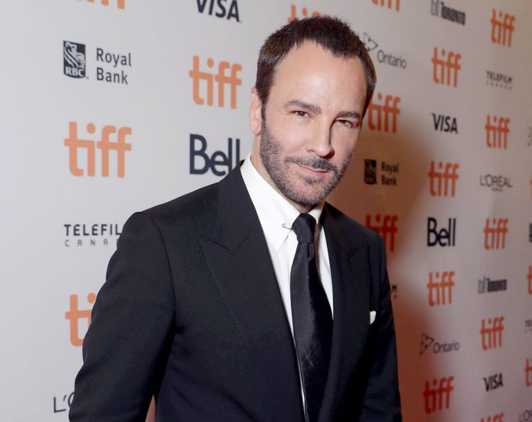 Regisseur, schrijver en producent Tom Ford op het Toronto International Film Festival, 11 september 2016. Beeld null