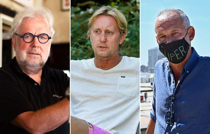 Ronald Ferket (66), Marc Van Sintruyen (49) en  Joeri De Bruyne (45).