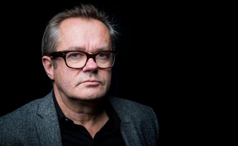 2014-11-07 20:02:05 DELFT - Portret van George van Houts, een van de acteurs uit het toneelstuk 'De Verleiders III - Door de bank genomen'. ANP KIPPA BART MAAT Beeld ANP