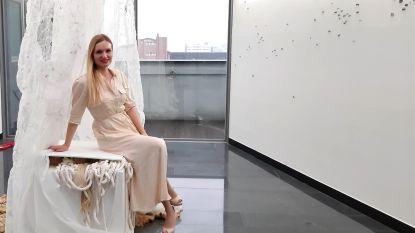 """Coronavirus dwarsboomt tentoonstelling van Kortrijkse kunstenares in Zuid-Korea: """"Alle musea zijn hier dicht"""""""