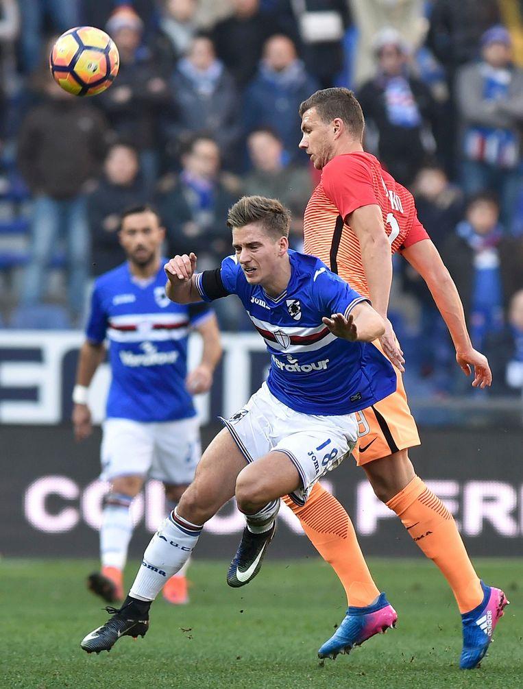 Praet scoorde zijn eerste doelpunt voor Sampdoria