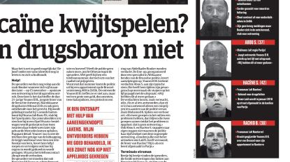 De vier ontvoerders