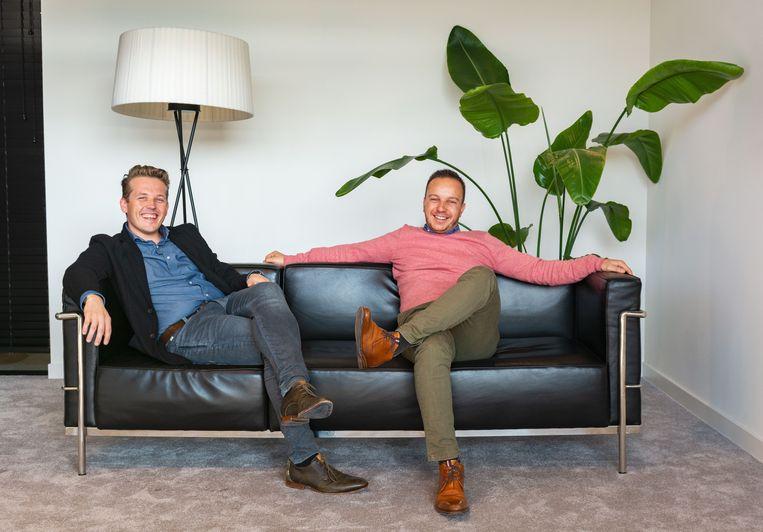 Servaas Bingé en Jelle Van De Velde ontwierpen emma.health