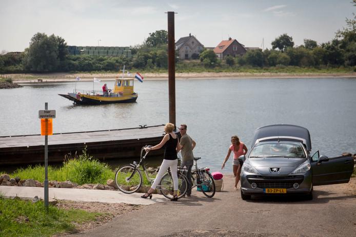 Het voet- en fietsveer tussen Heteren en Renkum trok afgelopen jaar een recordaantal gebruikers.