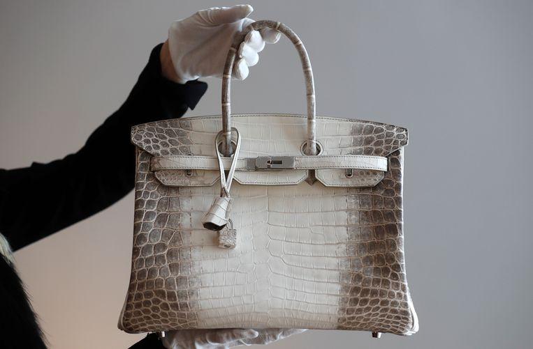 Archieffoto van een Himalaya Birkin van Hermès