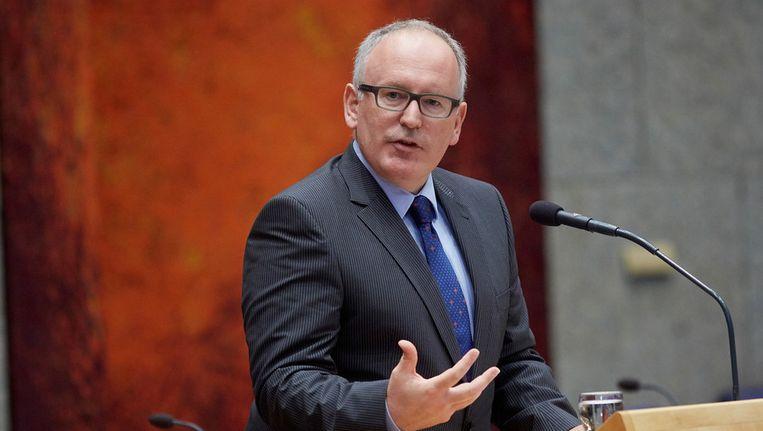 Minister van Buitenlandse Zaken Frans Timmermans Beeld ANP
