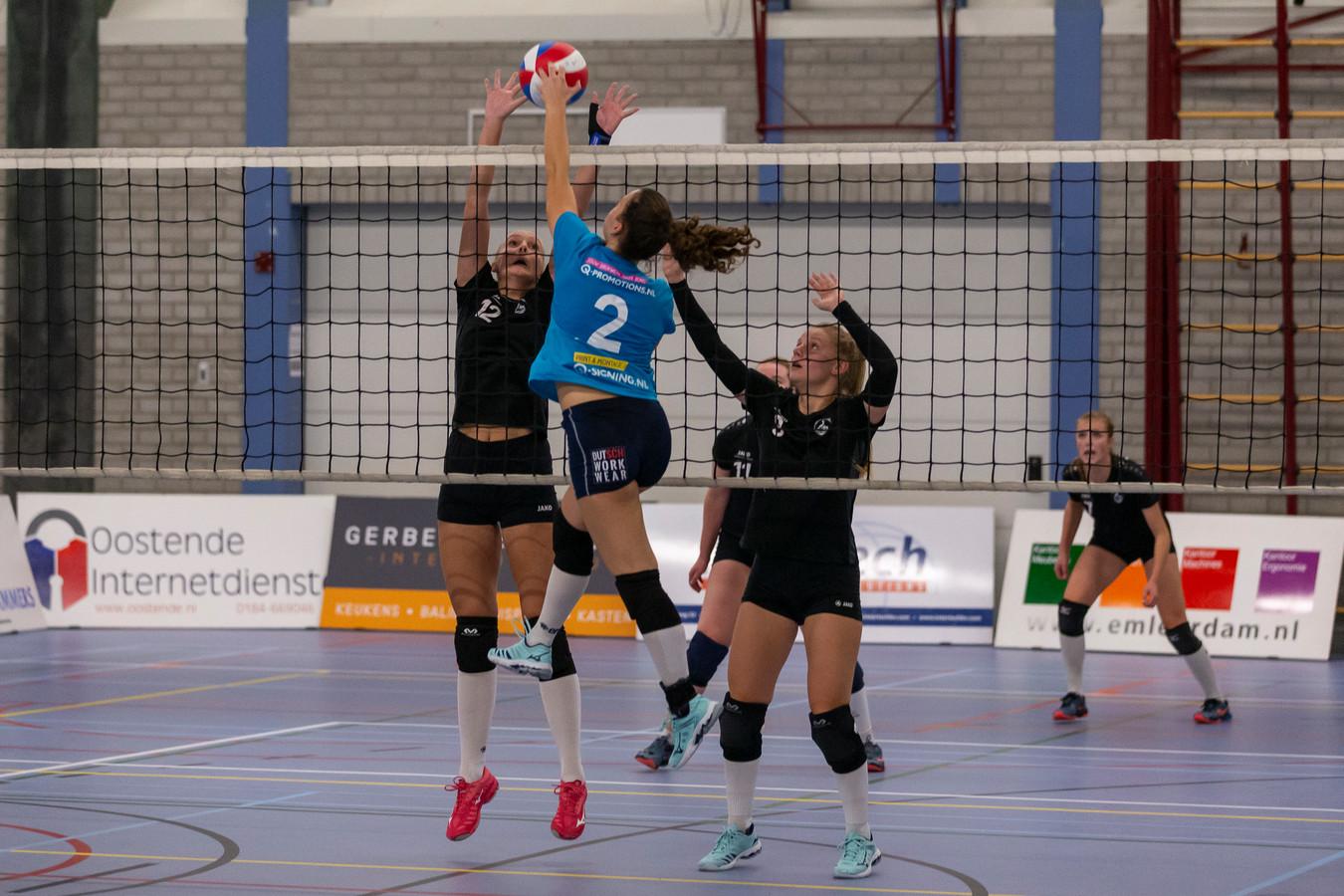 De vrouwen van Volley Tilburg zijn gepromoveerd naar de topdivisie.