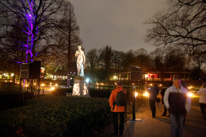De eerste editie van Winterlicht in 2013.